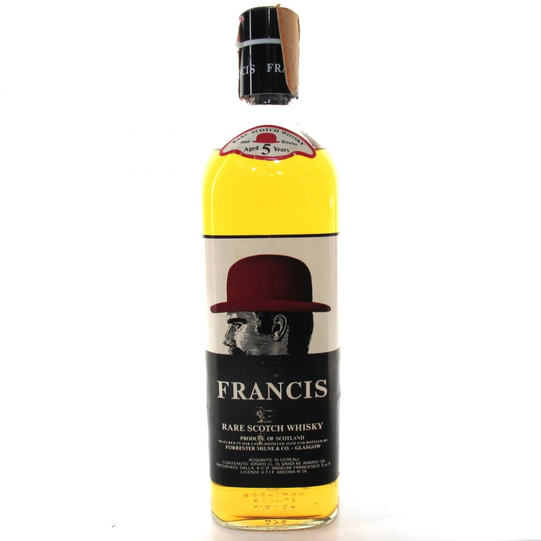 Francis 5 Year Old Scotch Whisky 1970s