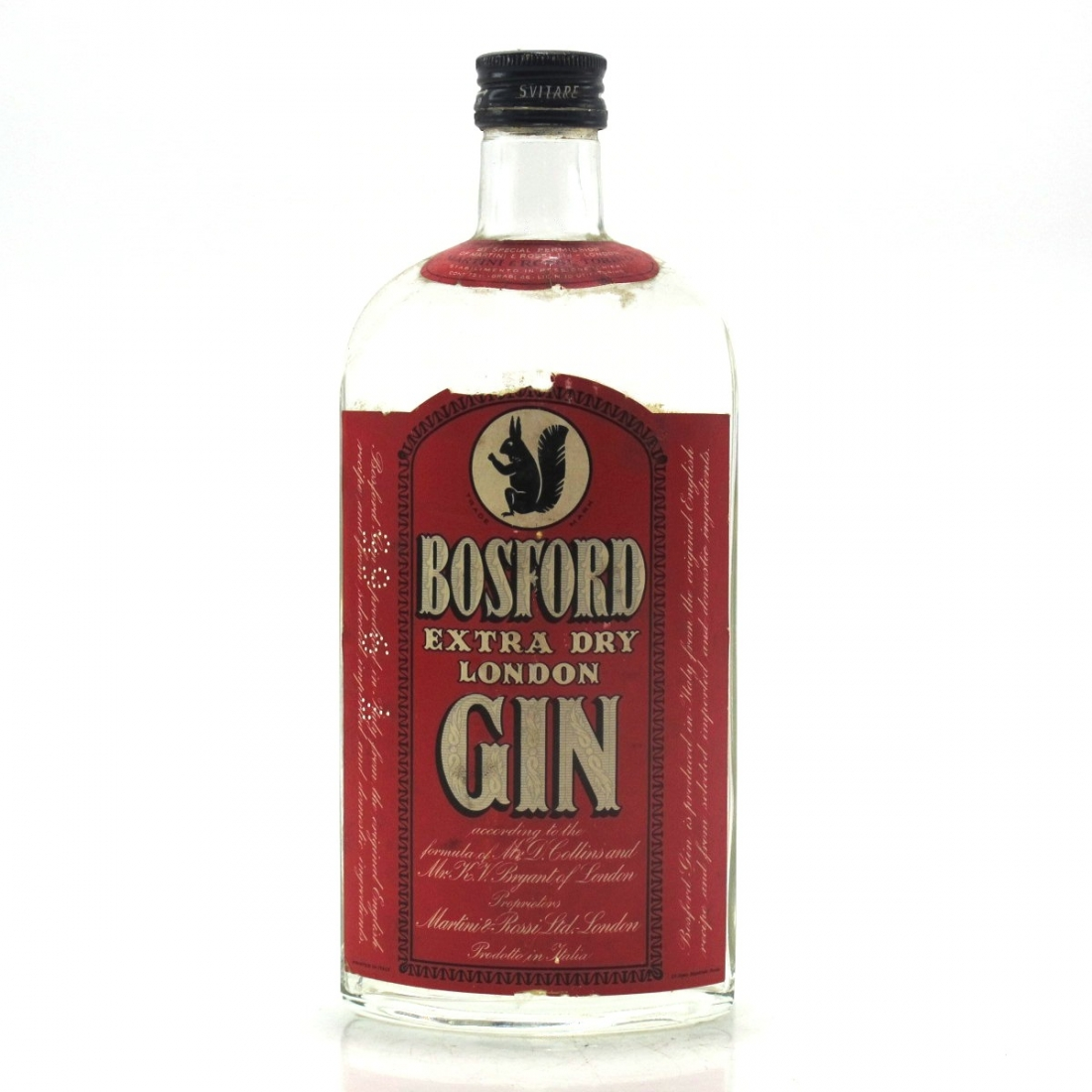 Bosford Extra Dry Gin 1960s