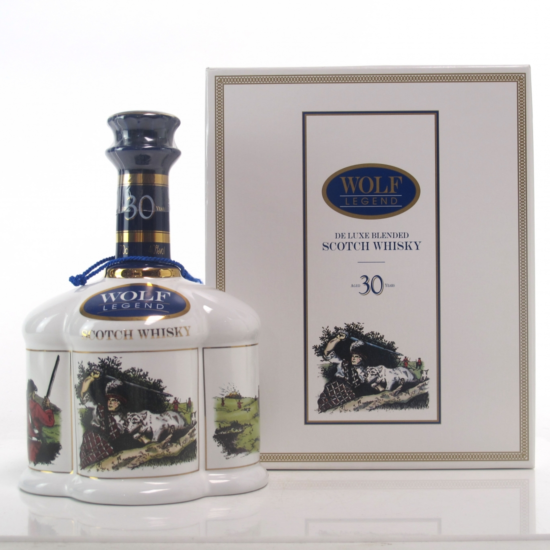 Morrison Bowmore Wolf Legend 30 Year Old Decanter