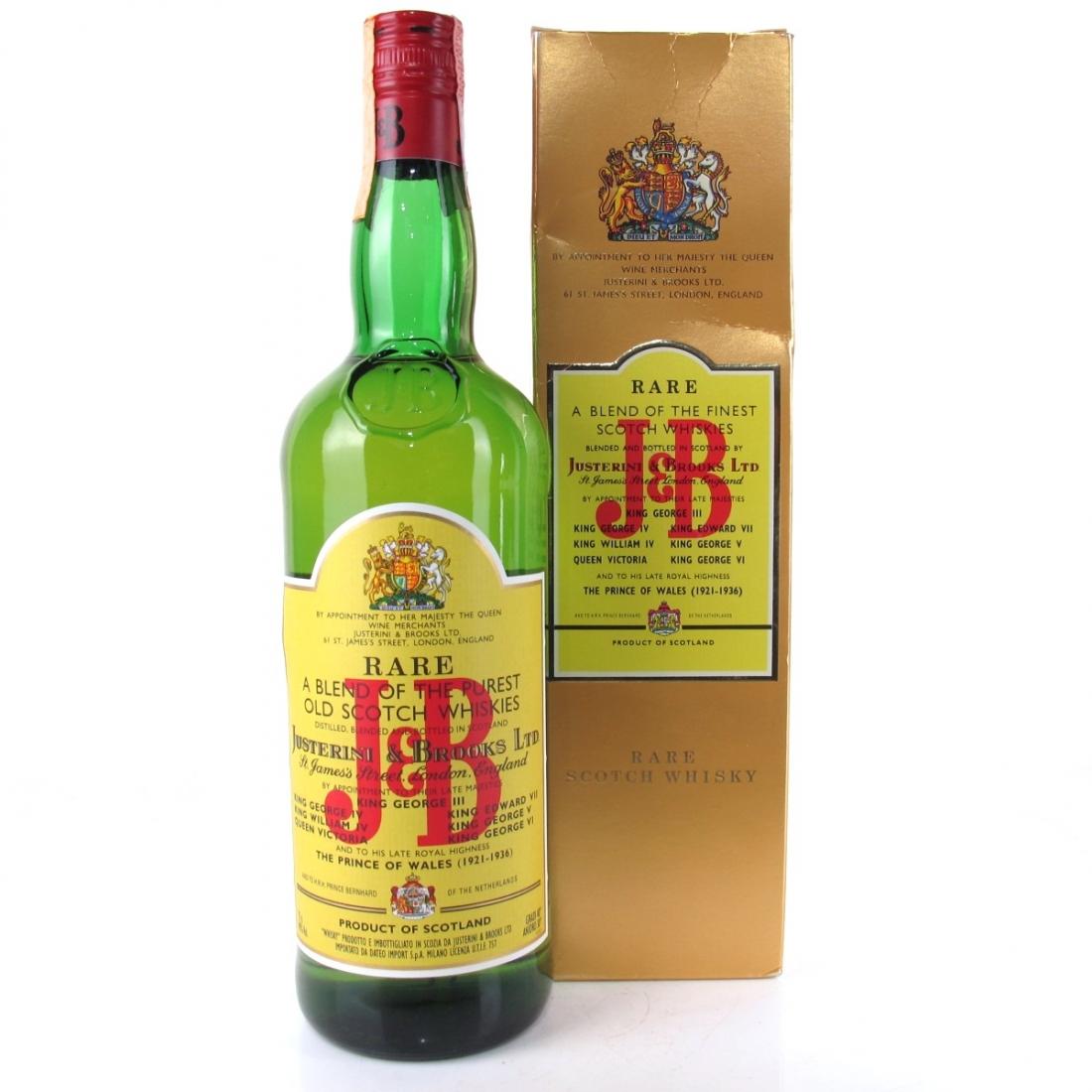 J&B Rare 1980s