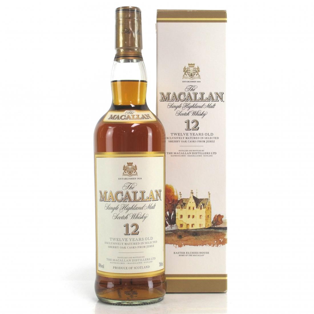 Macallan 12 Year Old