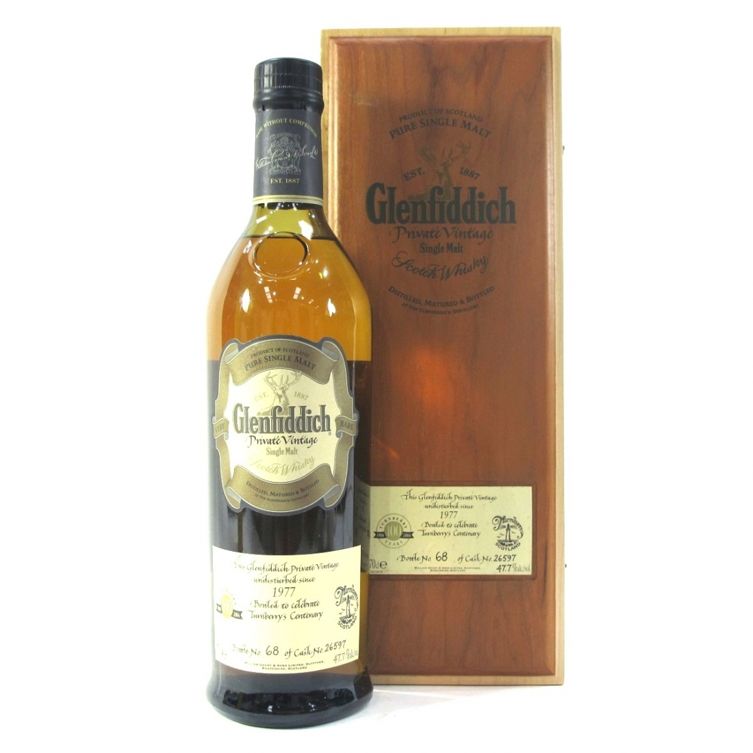 Glenfiddich 1977 Private Vintage Turnberry's Centenary