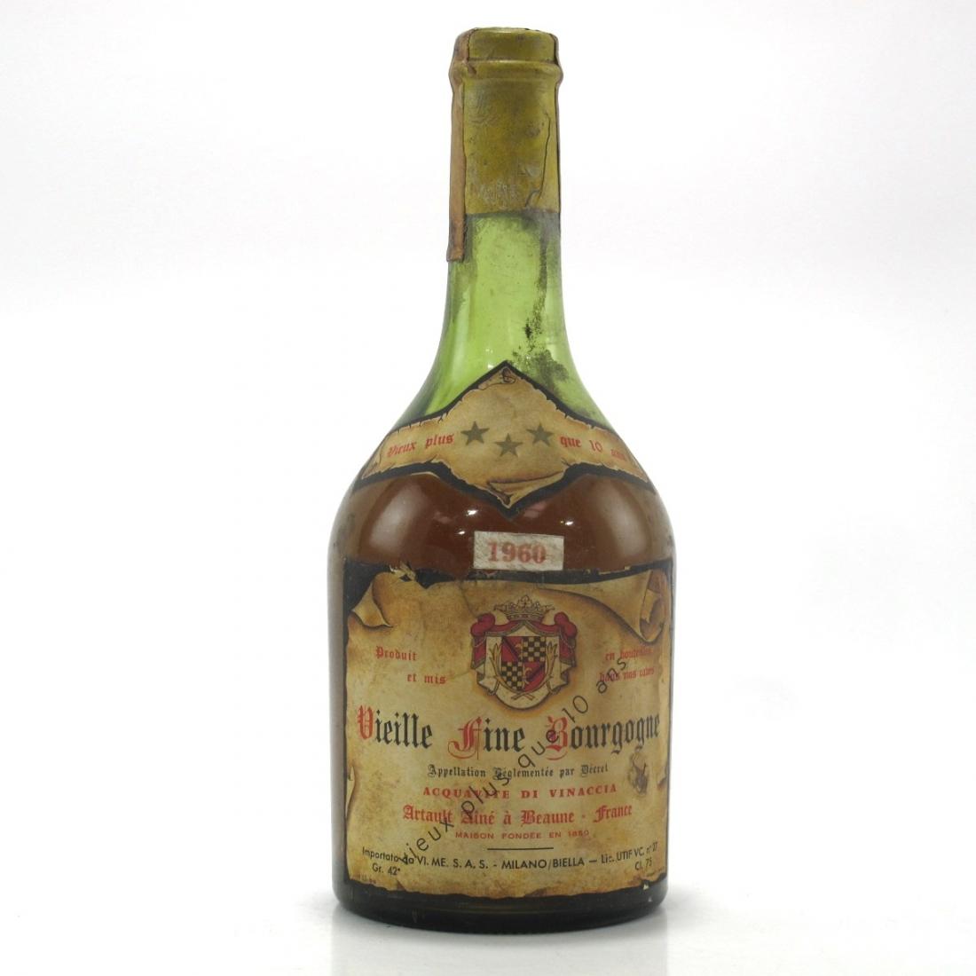 Artault Aine a Beaune 1960 Vielle Fine Bourgogne