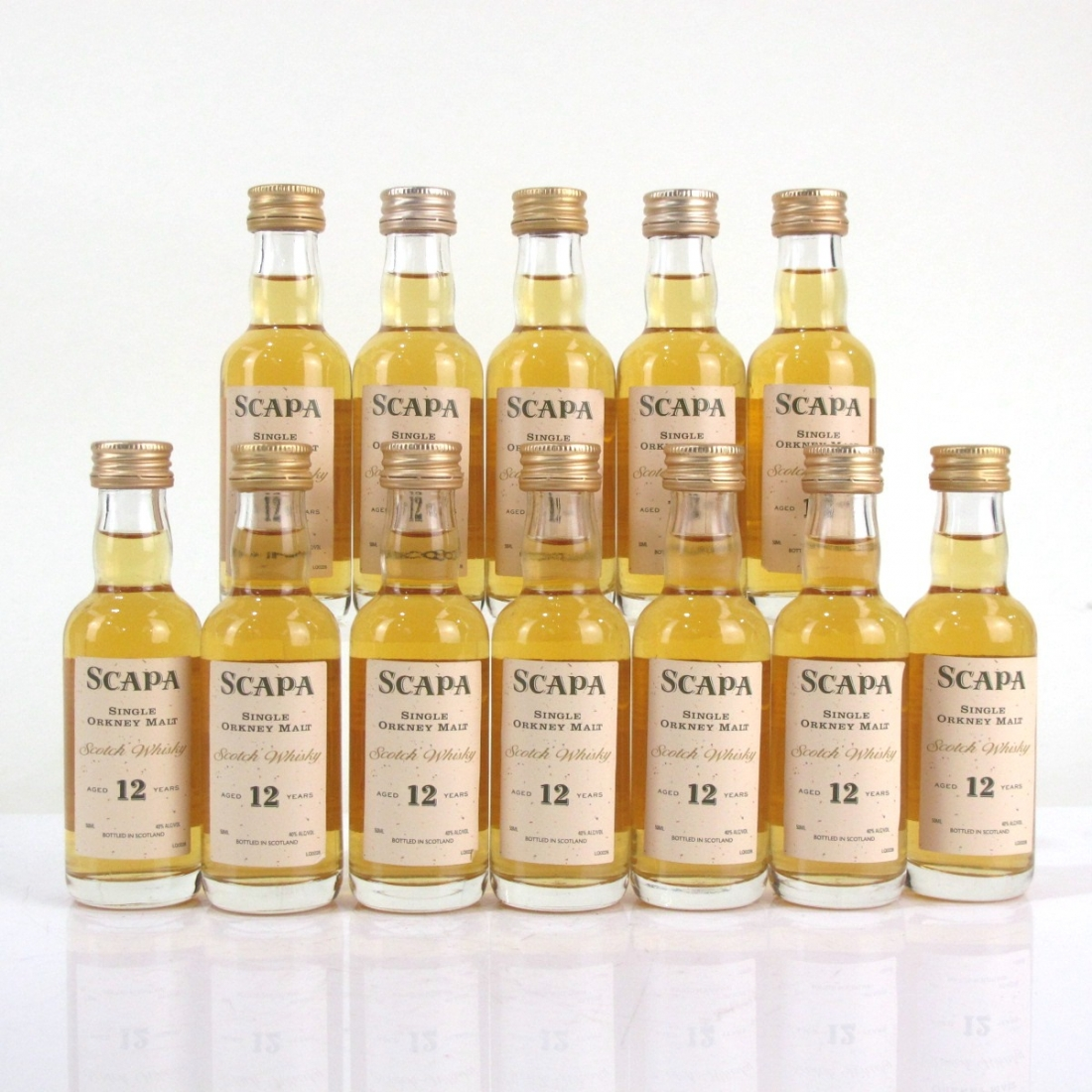 Scapa 12 Year Old Miniatures 12 x 5cl / US Import