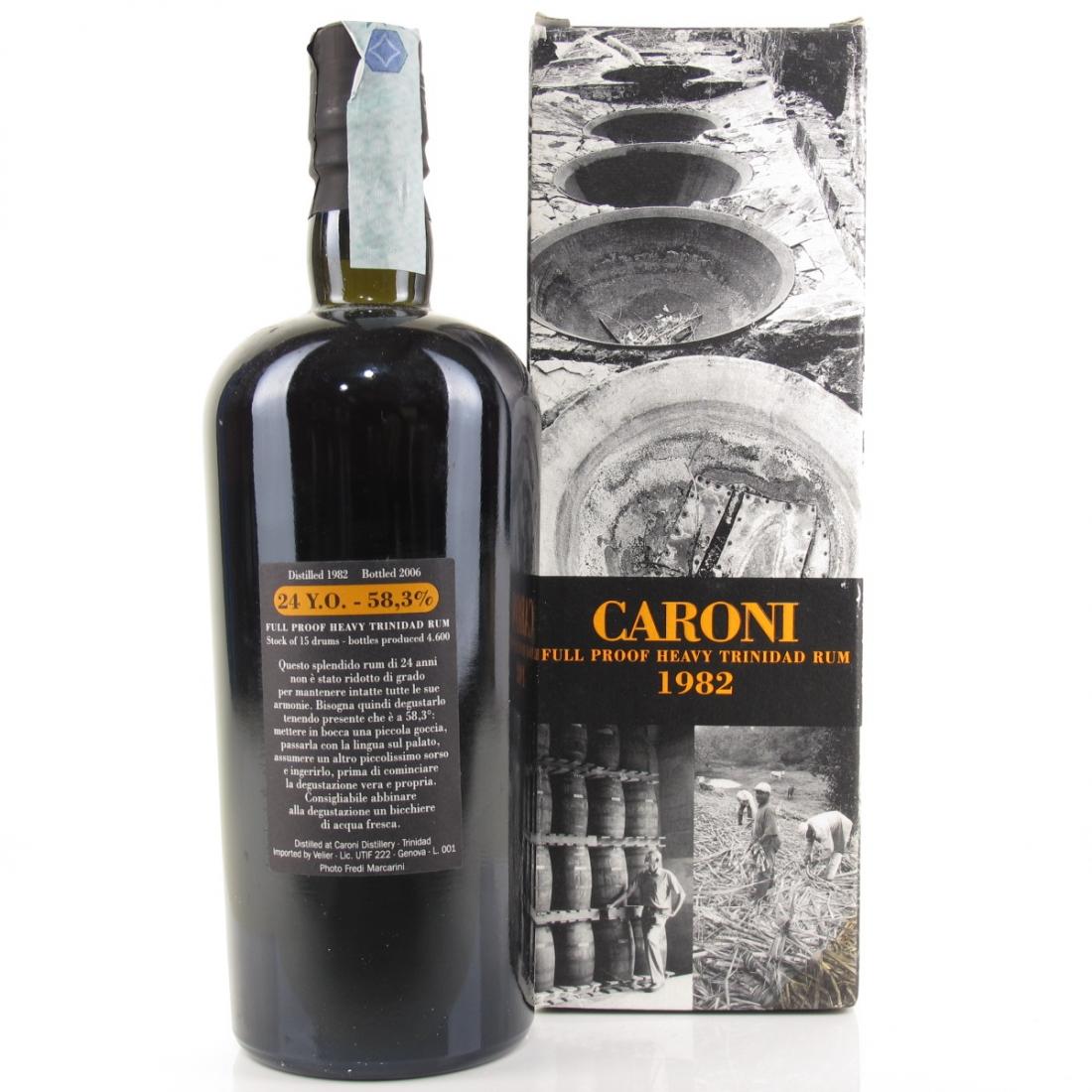 Caroni 1982 Full Proof 24 Year Old Trinidad Rum