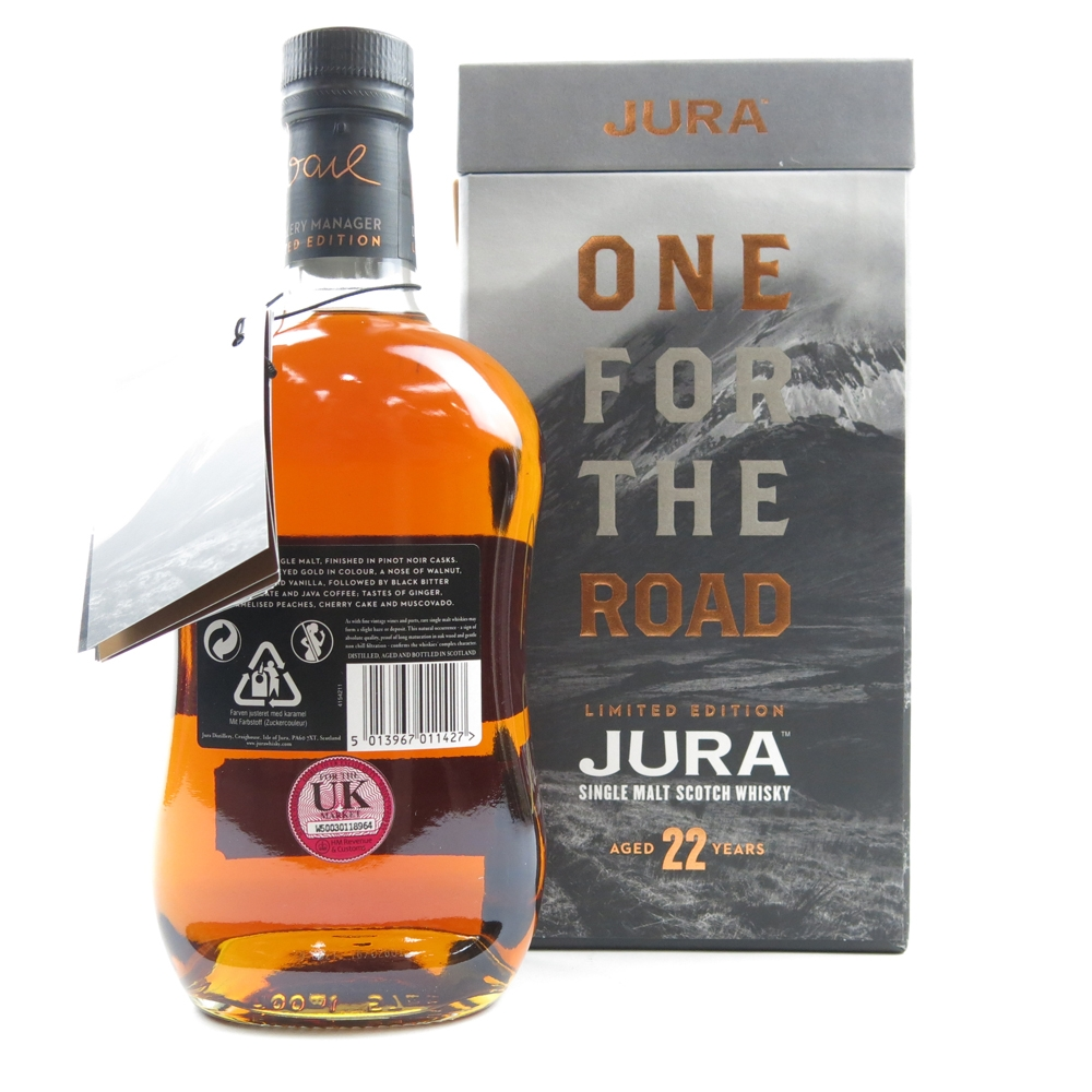 Jura 22 Year Old 'One for the Road' / Signed by Willie Cochrane