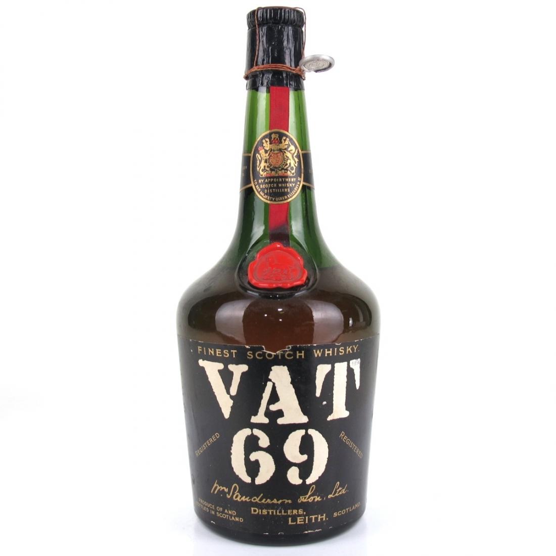 VAT 69 1950s