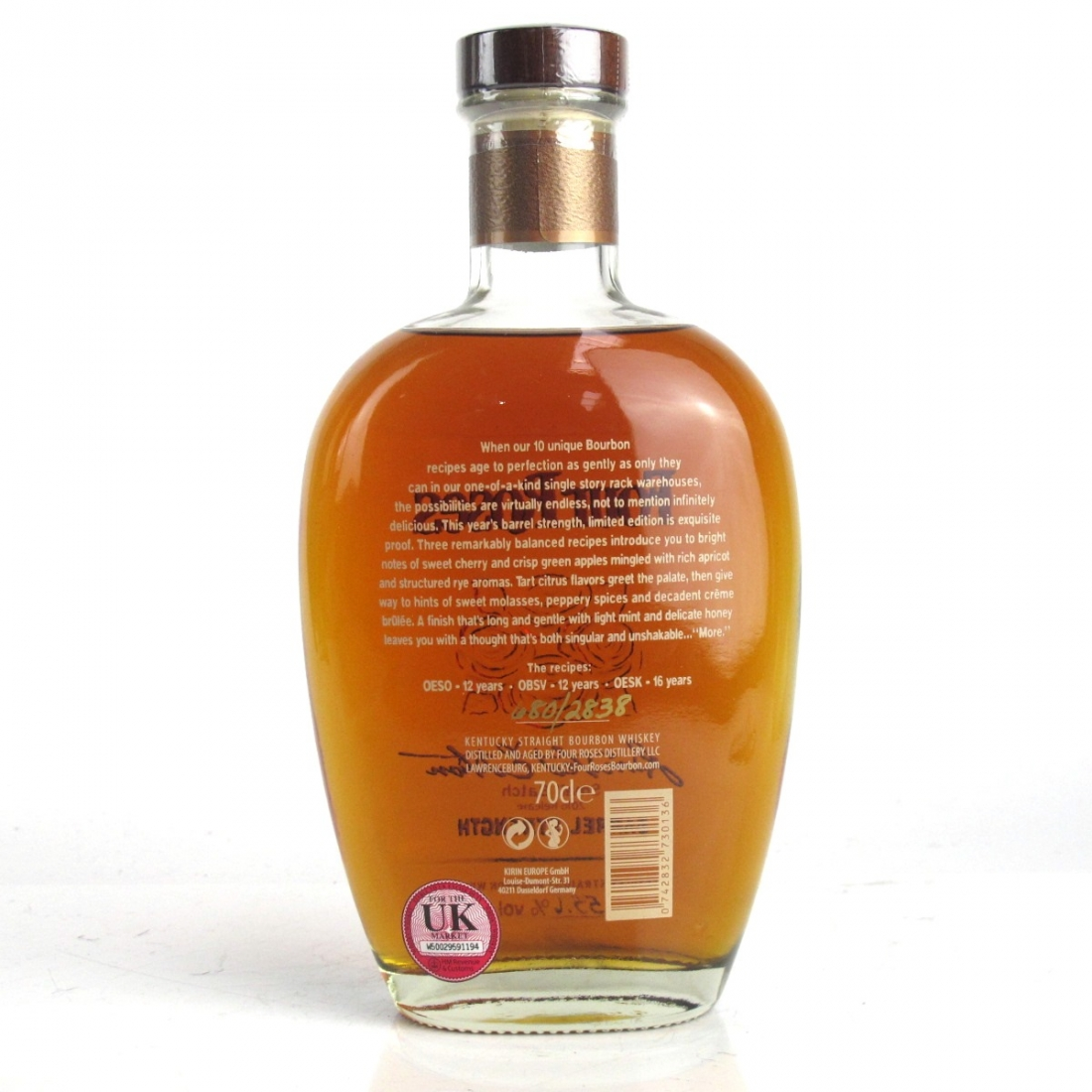 Four Roses Small Batch Limited Edition 2016