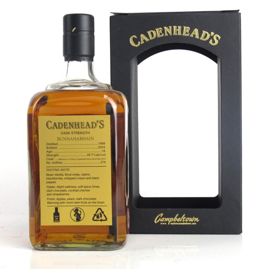 Bunnahabhain 1999 Cadenhead's 16 Year Old