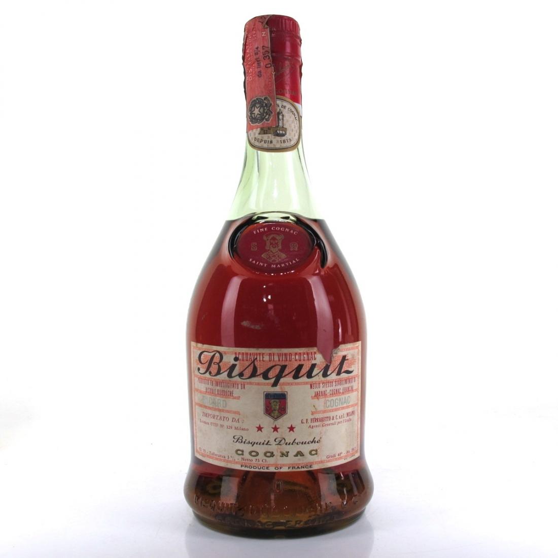 Bisquit 3-Star Cognac 1970s