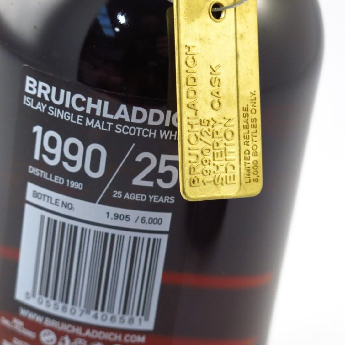 Bruichladdich 1990 Sherry Cask 25 Year Old