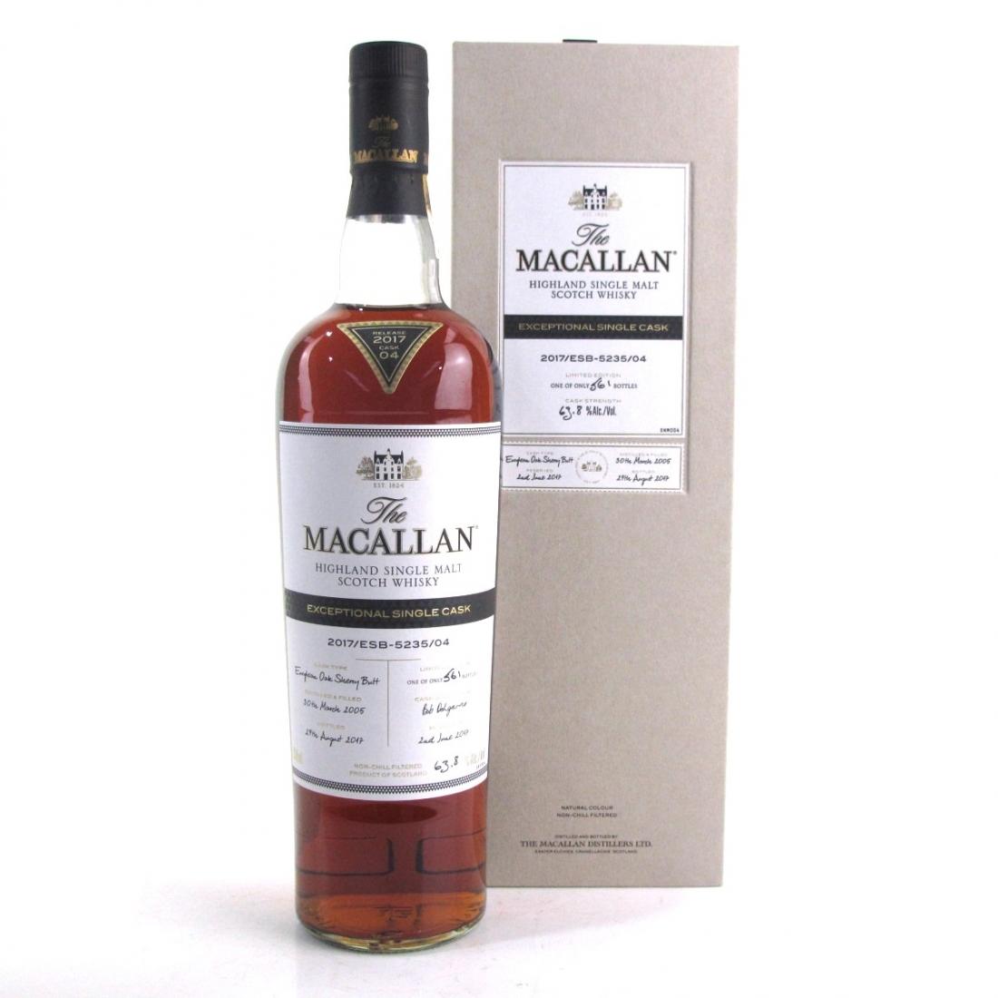 Macallan 2005 Exceptional Cask #5235-04 / US Import 75cl