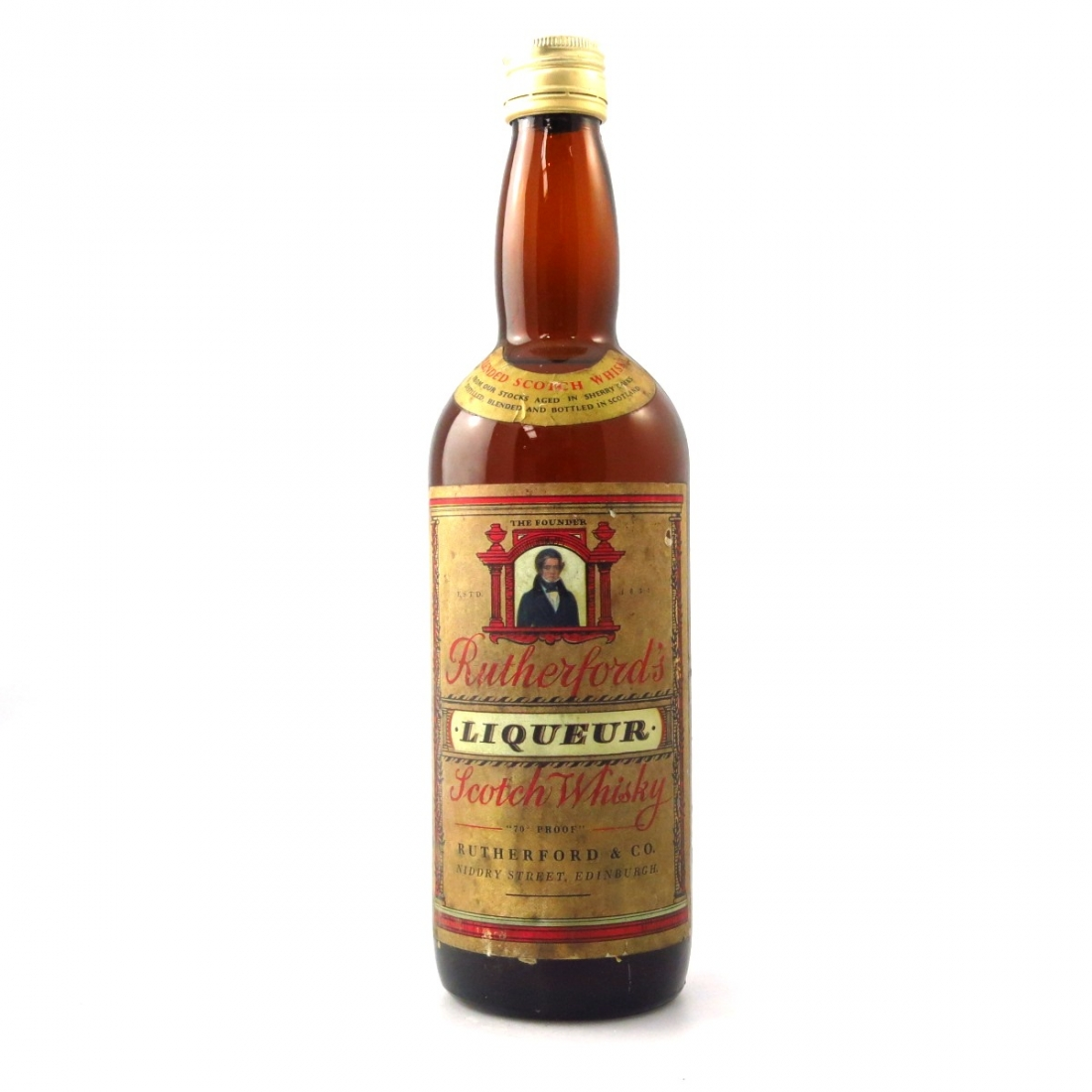 Rutherford's Liqueur Scotch 1970s