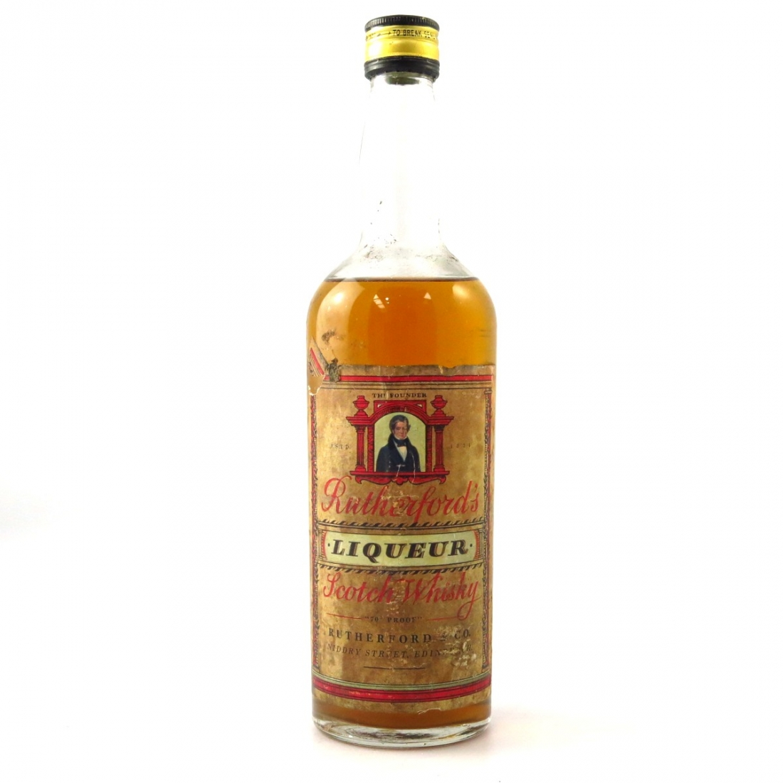 Rutherford's Liqueur Scotch 1960s