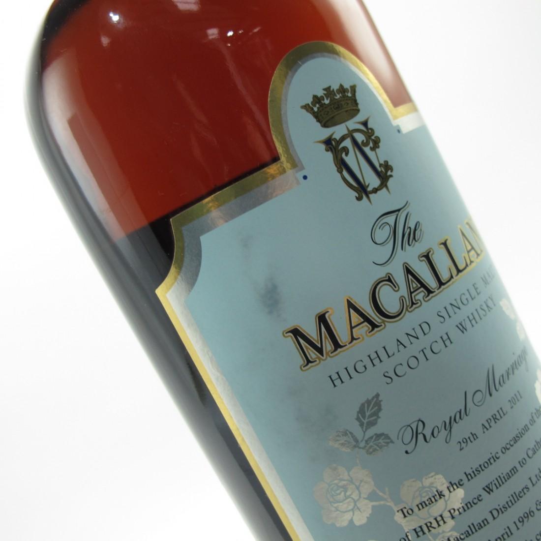 Macallan Royal Marriage 2011