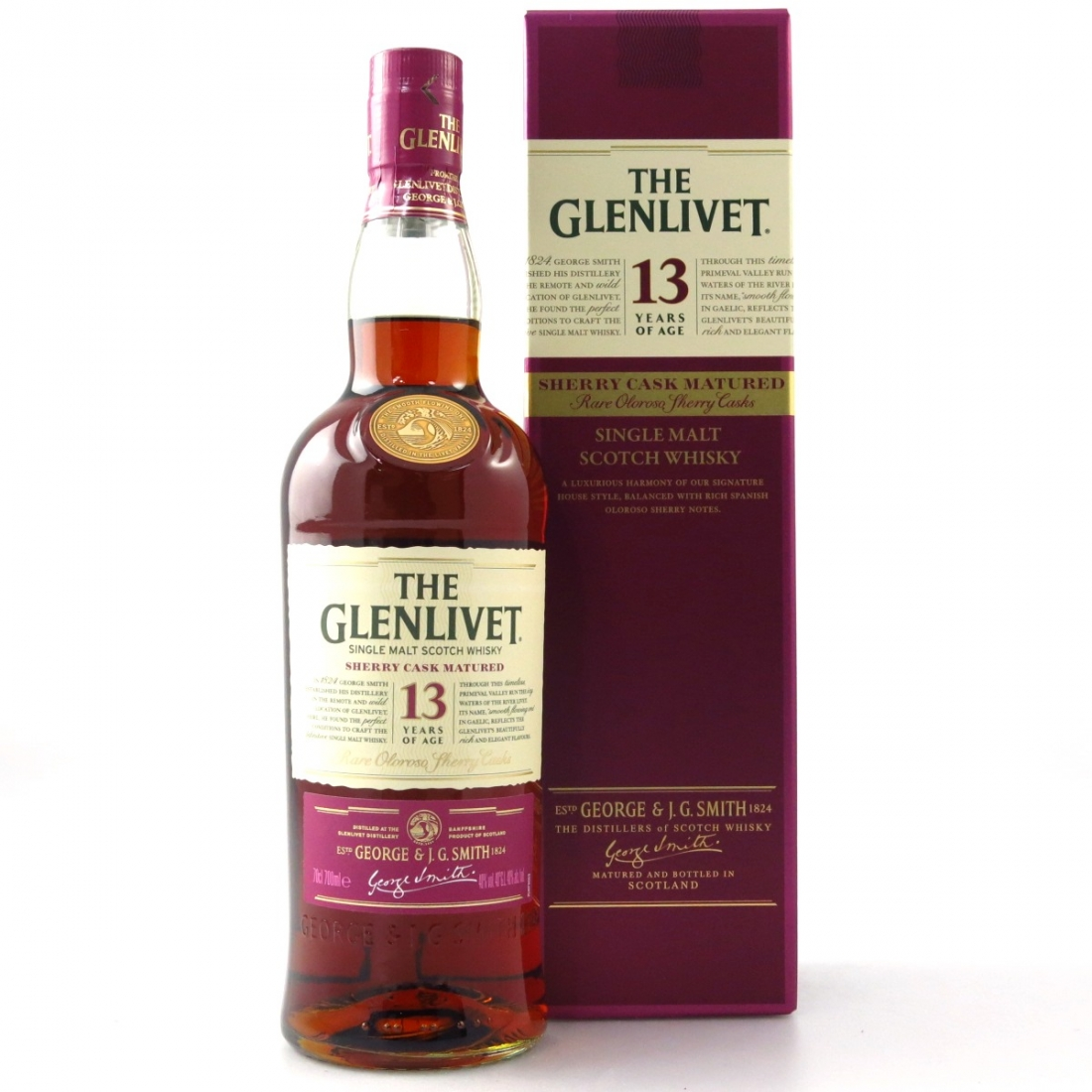 Glenlivet 13 Year Old Sherry Cask / Taiwan Exclusive