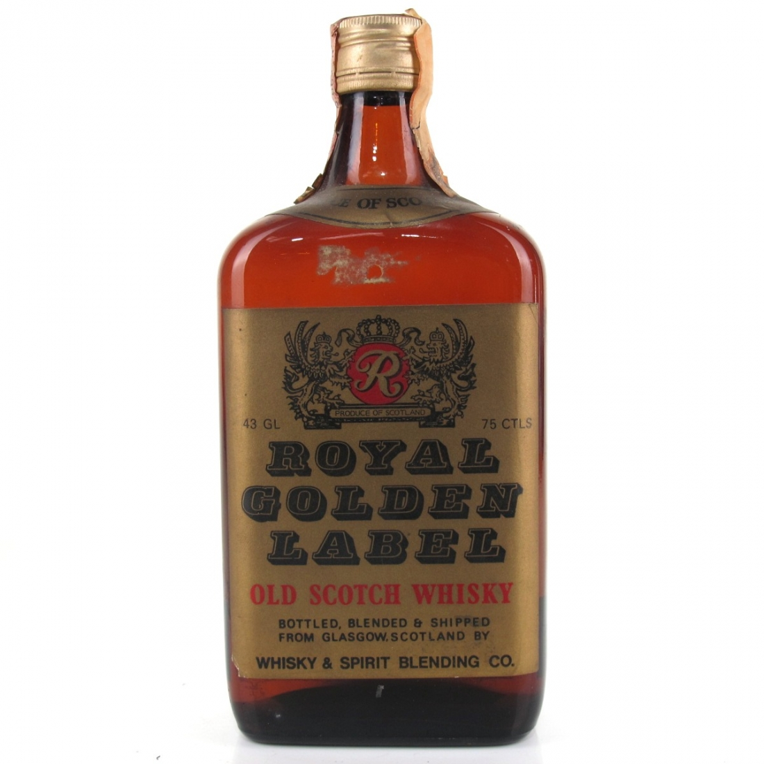 Royal Golden Label Scotch Whisky 1960s