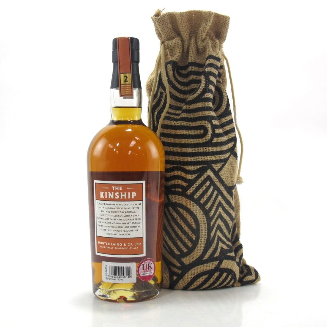 Bowmore 30 Year Old Hunter Laing Kinship / Feis Ile 2017 - Signed