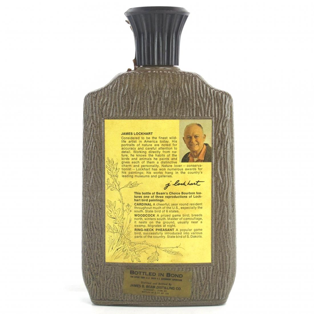 Jim Beam's Choice 8 Year Old Decanter 1970s / Pheasant
