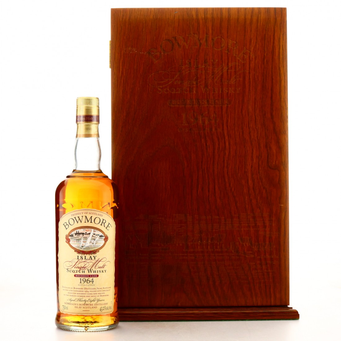 *Bowmore 1964 Bourbon Cask 38 Year Old 75cl / US Import
