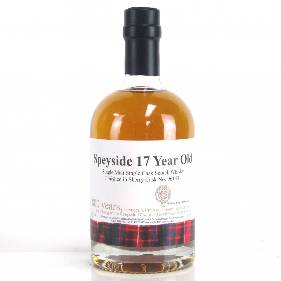 Speyside 17 Year Old Hebridean Liqueur Co. 50cl