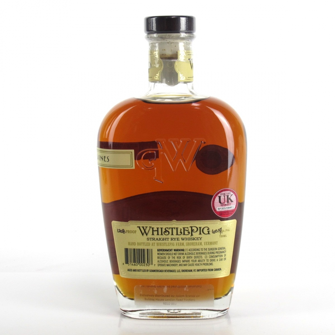 Whistlepig 10 Year Old Single Barrel Straight Rye / Hedonism Wines