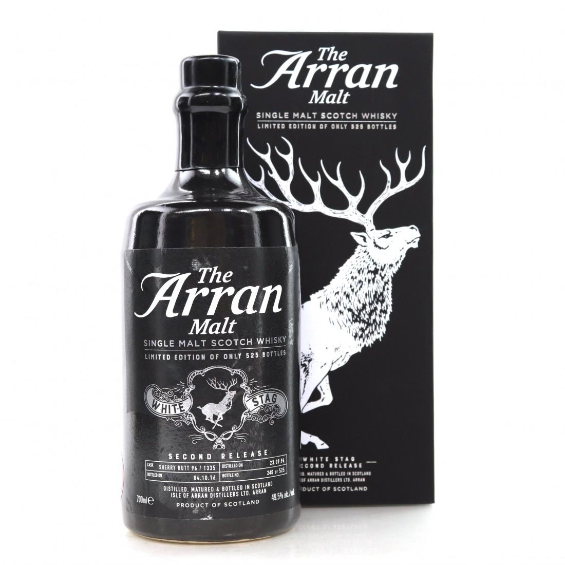 Arran White Stag Second Release