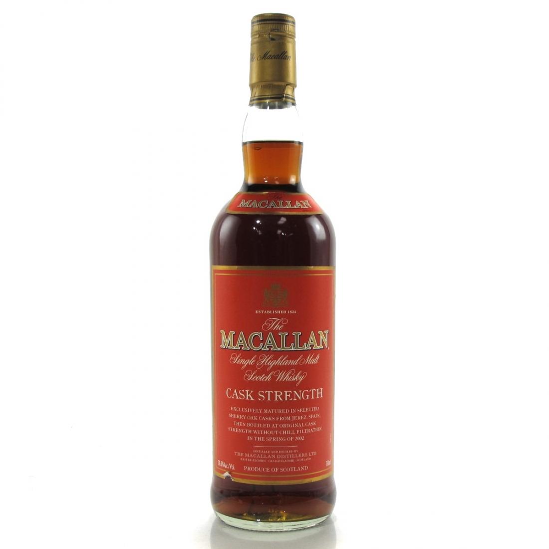 Macallan Cask Strength 58.6% 75cl / US Import