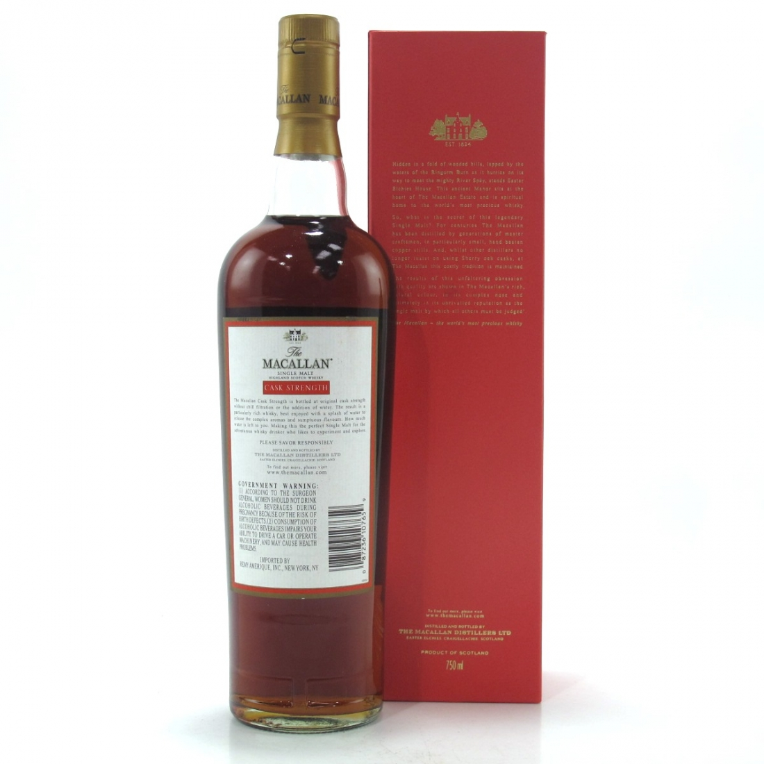 Macallan Cask Strength 58.2% 75cl / US Import