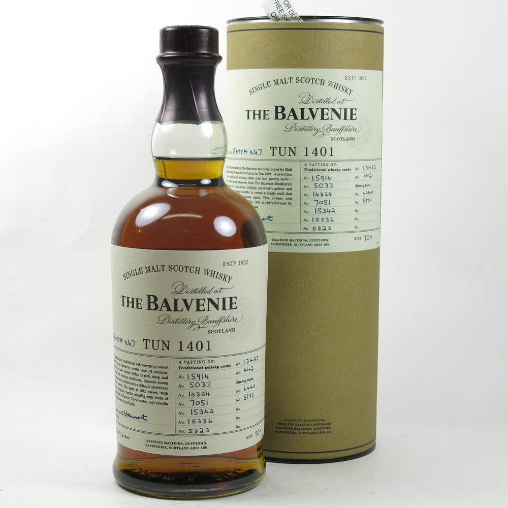 Balvenie Tun 1401 Batch #7 (Travel Retail Exclusive) front
