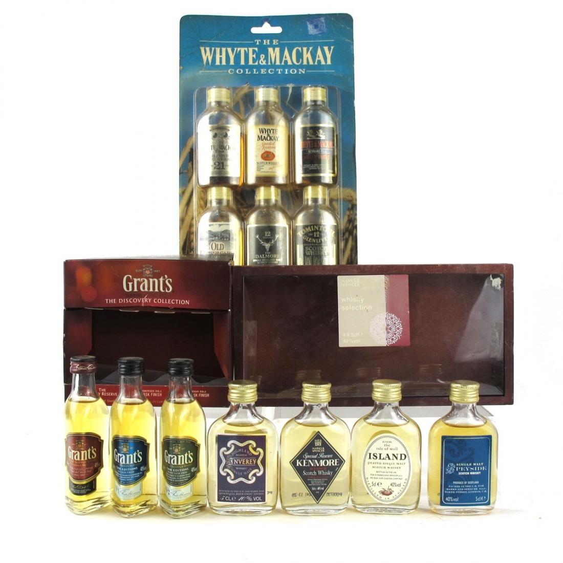 Scotch Whisky Mini Pack Selection / 13 x 5cl