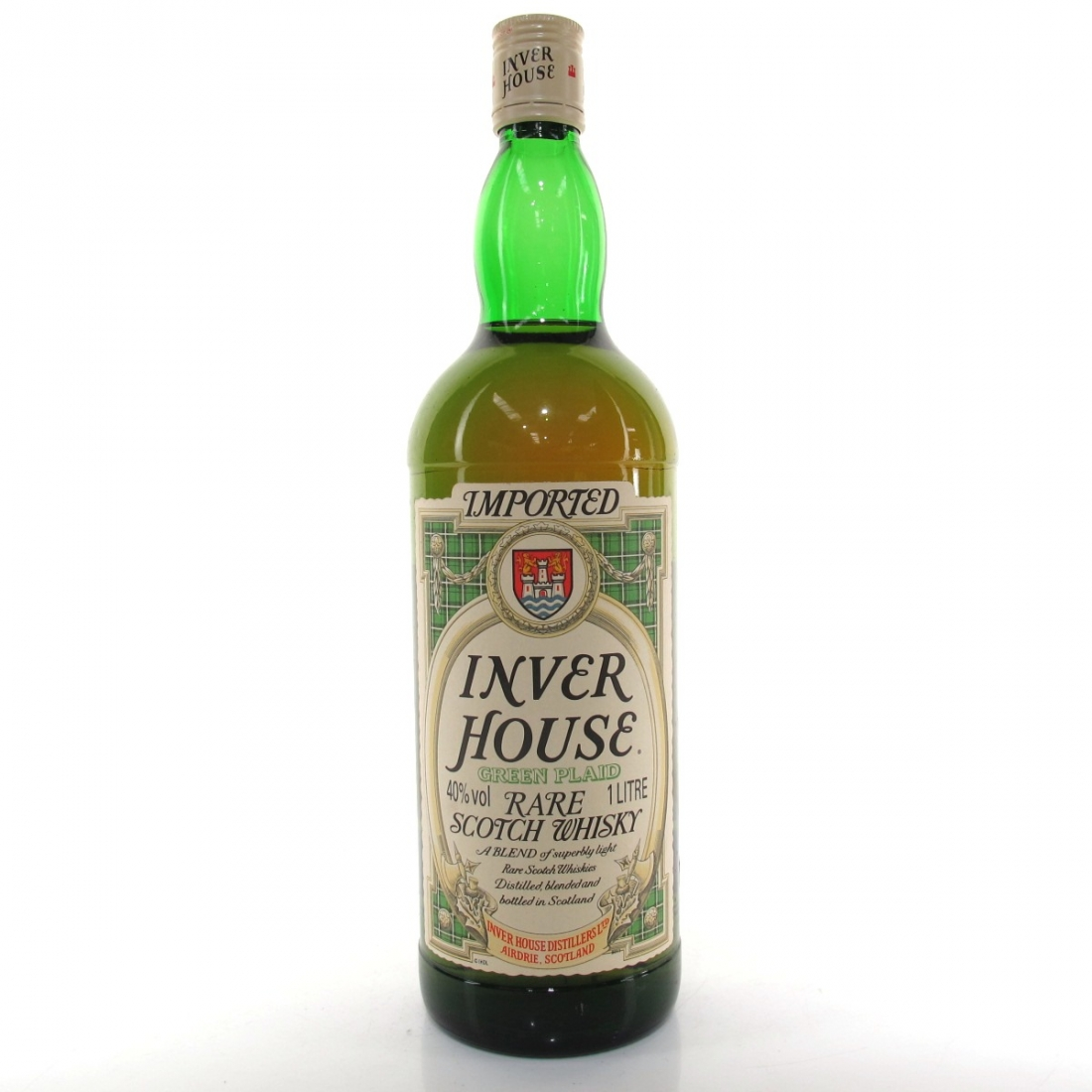 Inverhouse Green Plaid 1 Litre