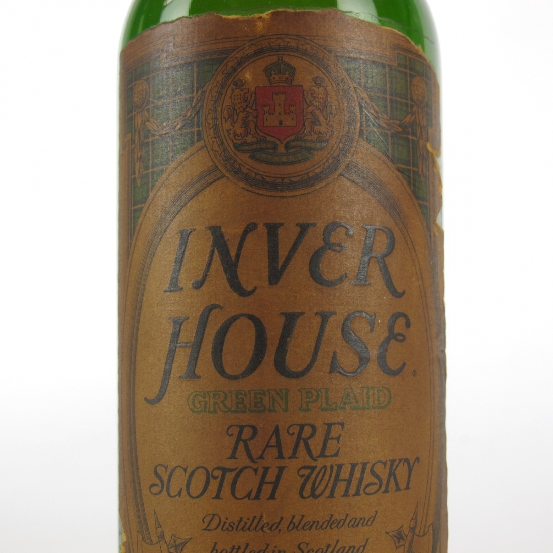 Inverhouse Green Plaid 1970s