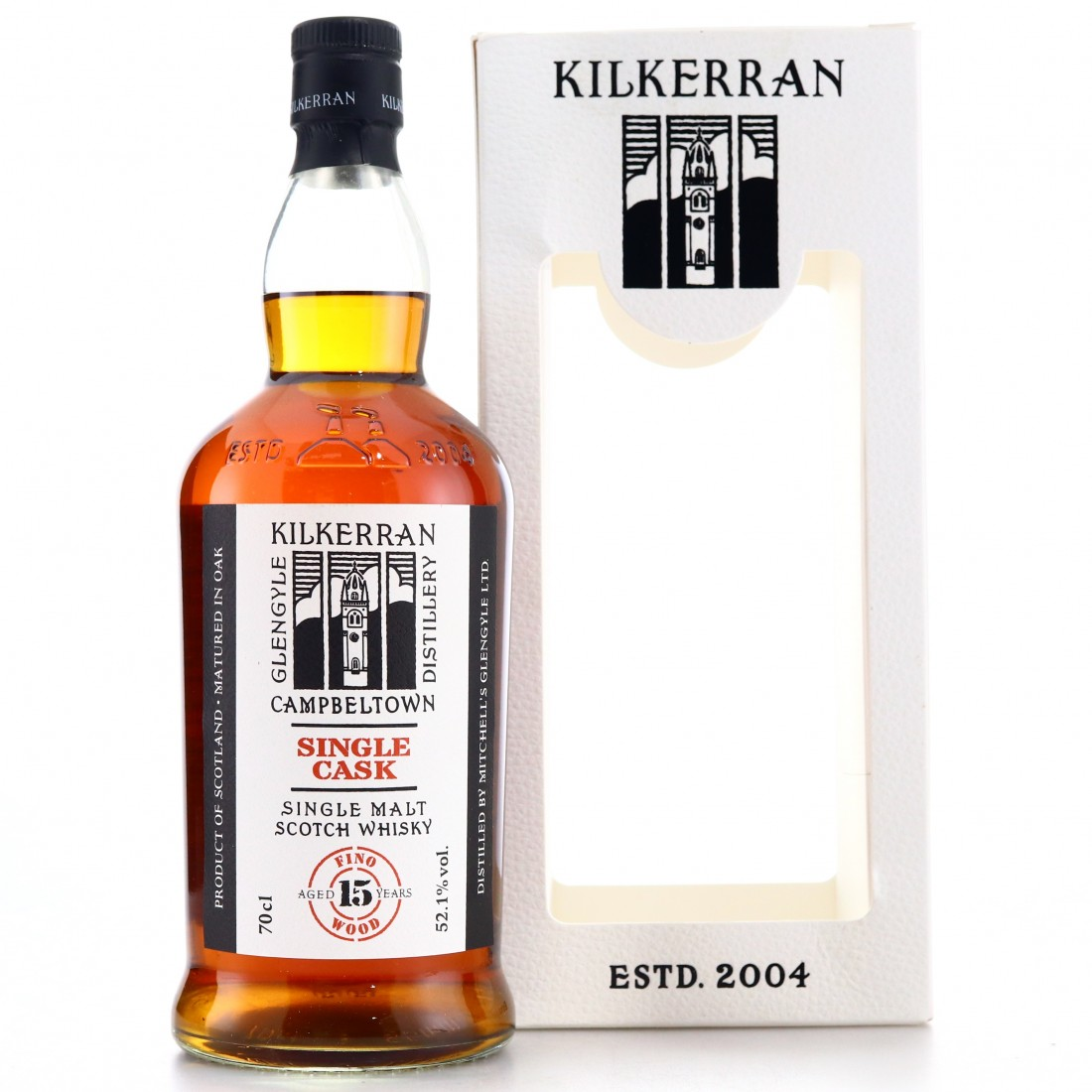Kilkerran 2004 Single Fino Cask 15 Year Old / 15th Anniversary - The Nectar