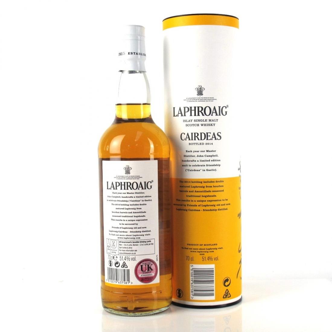 Laphroaig Cairdeas Amontillado Feis Ile 2014