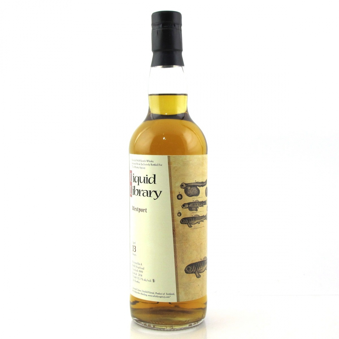 Westport 1999 Whisky Agency 13 Year Old / Liquid Library