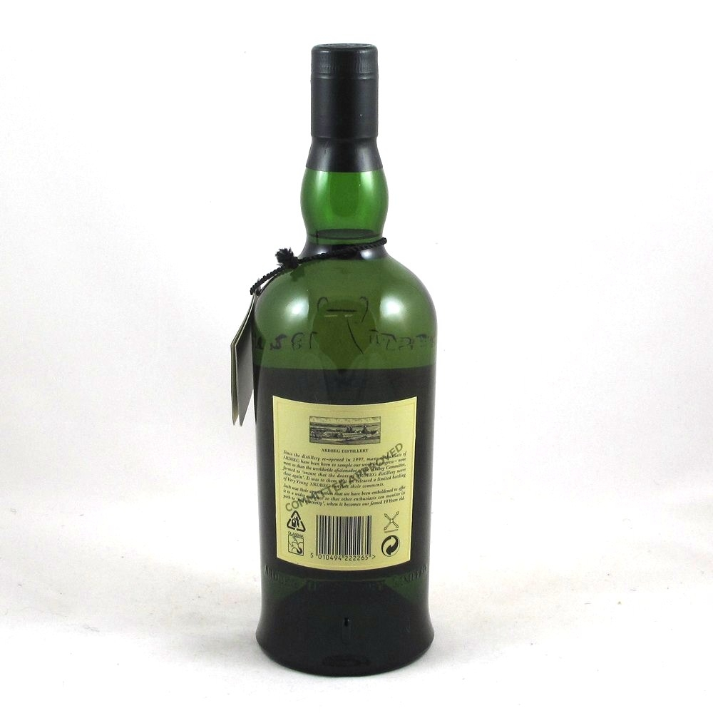 Ardbeg 1998 Very Young Back