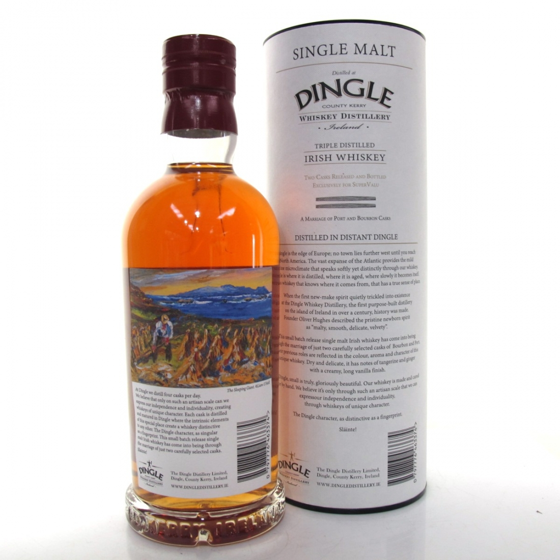 Dingle Irish Malt Whiskey / Port and Bourbon