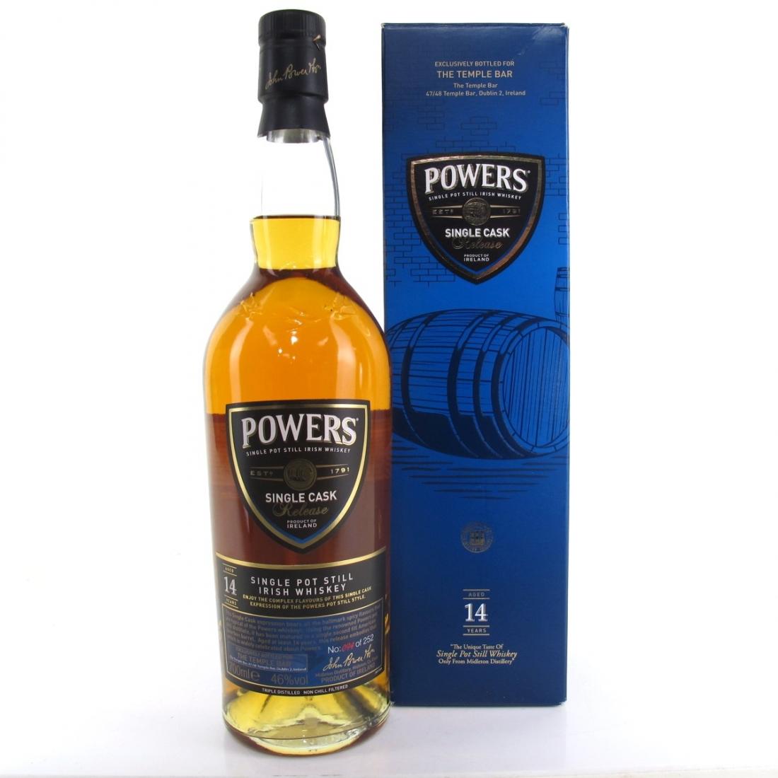 Powers 14 Year Old Single Cask / Temple Bar Dublin