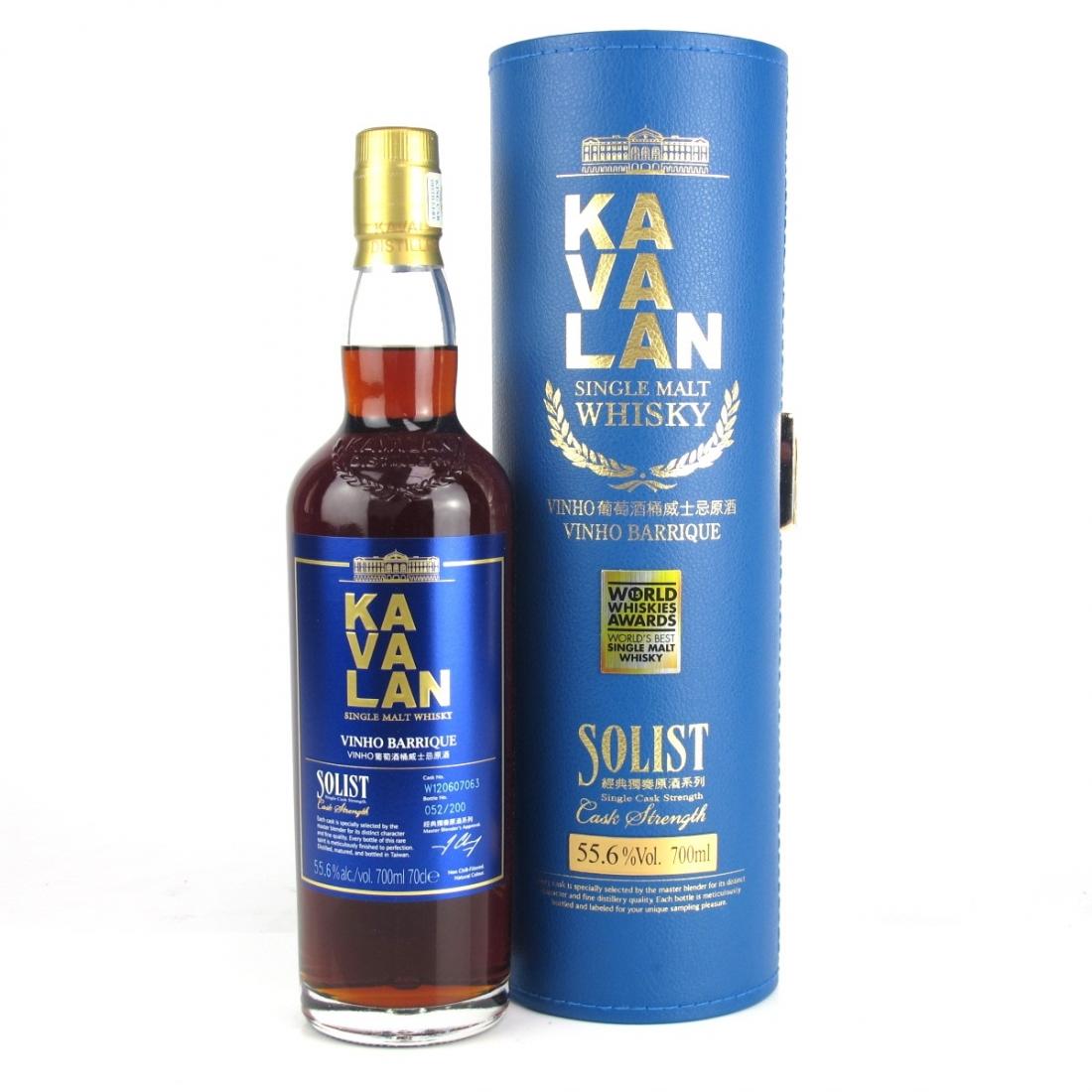 Kavalan Solist Vinho Barrique / 55.6%