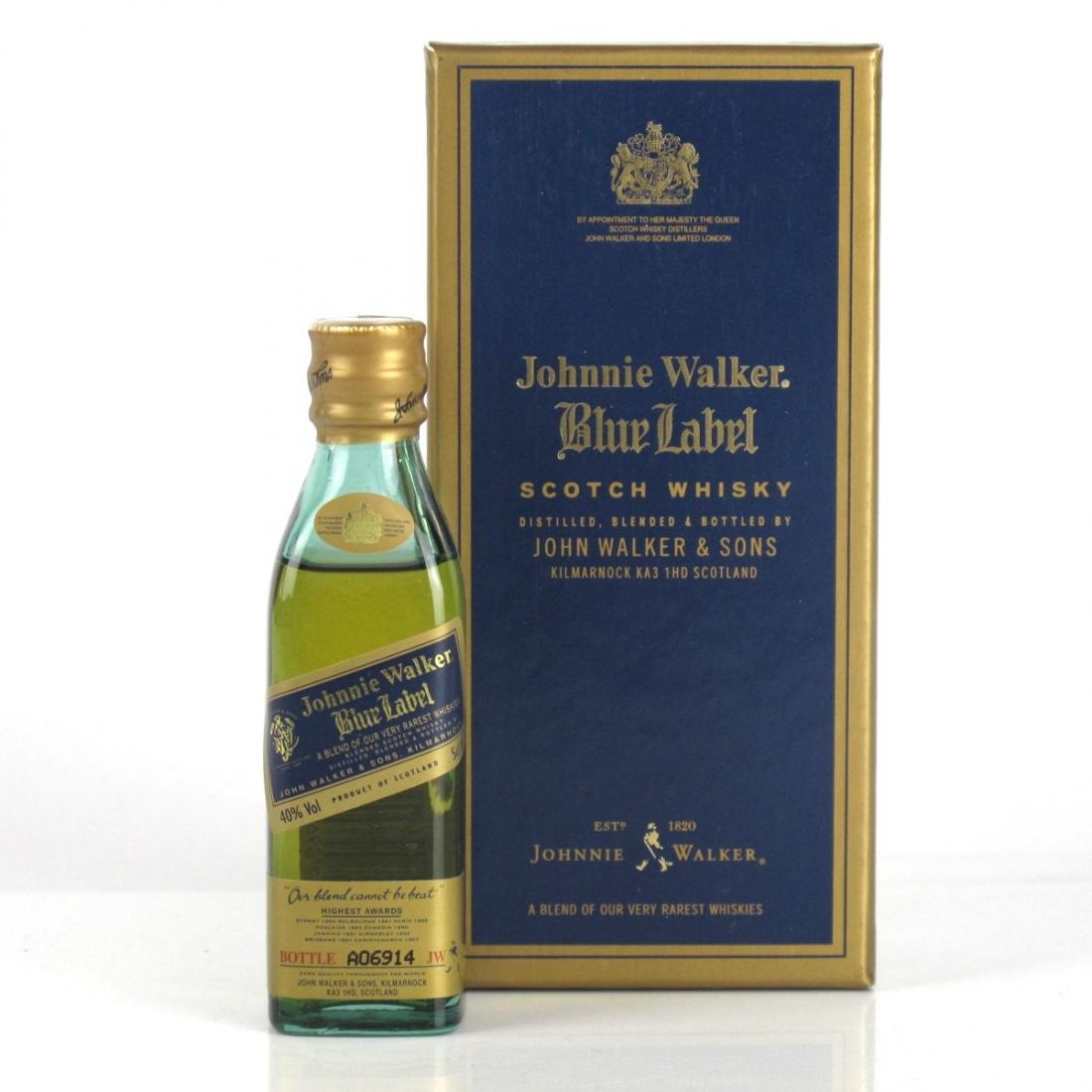 Johnnie Walker Blue Label Miniature 5cl