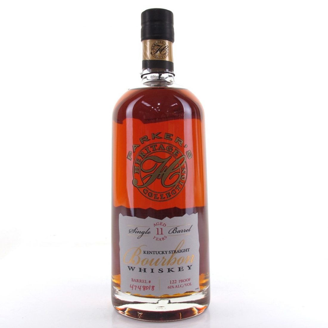 Parker's Heritage Collection 11 Year Old Single Barrel Bourbon 75cl