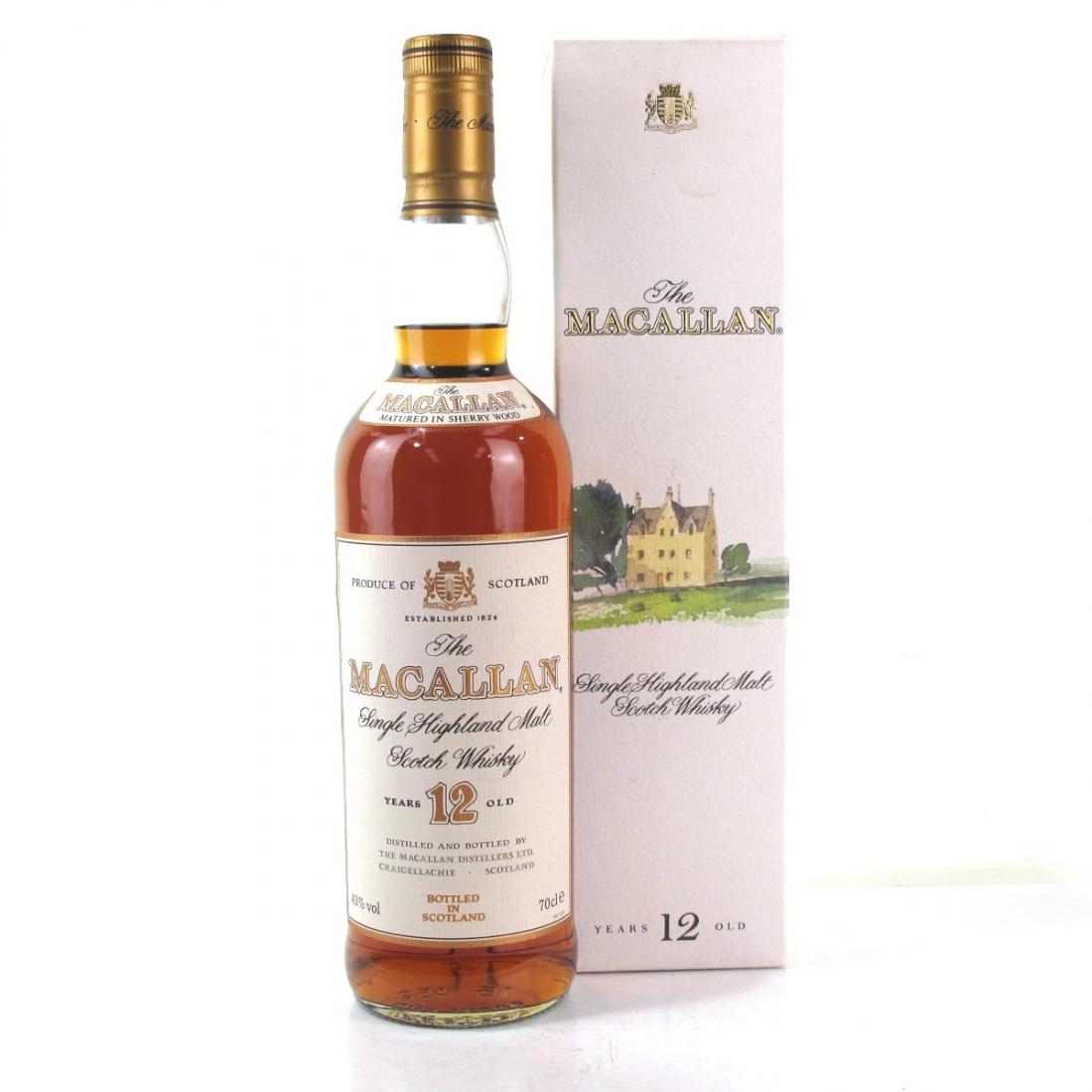 Macallan 12 Year Old 1990s
