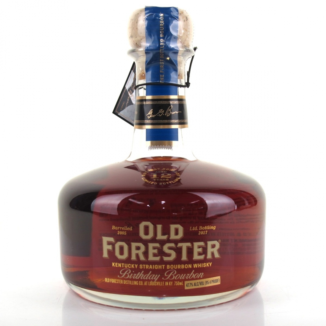 Old Forester 2005 Birthday Bourbon 12 Year Old 75cl