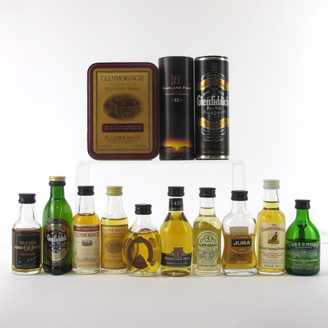 Scotch Whisky Miniature Selection 10 x 5cl