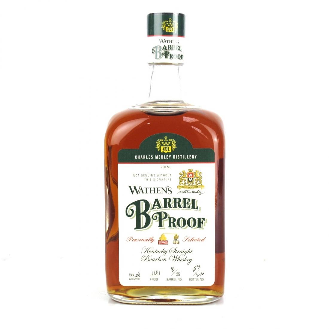 Wathen's Barrel Proof Kentucky Bourbon / State of Oregon