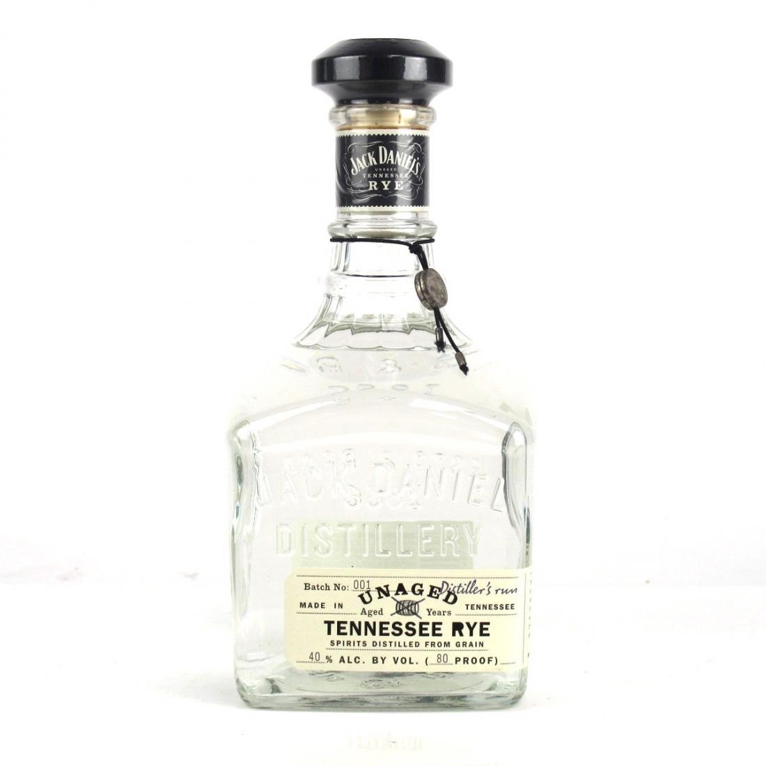 Jack Daniel's Unaged Tennessee Rye Batch #1