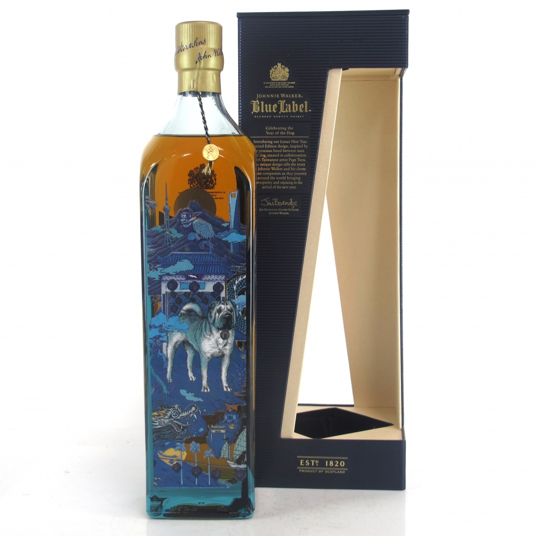 Johnnie Walker Blue Label Year of the Dog 1 Litre