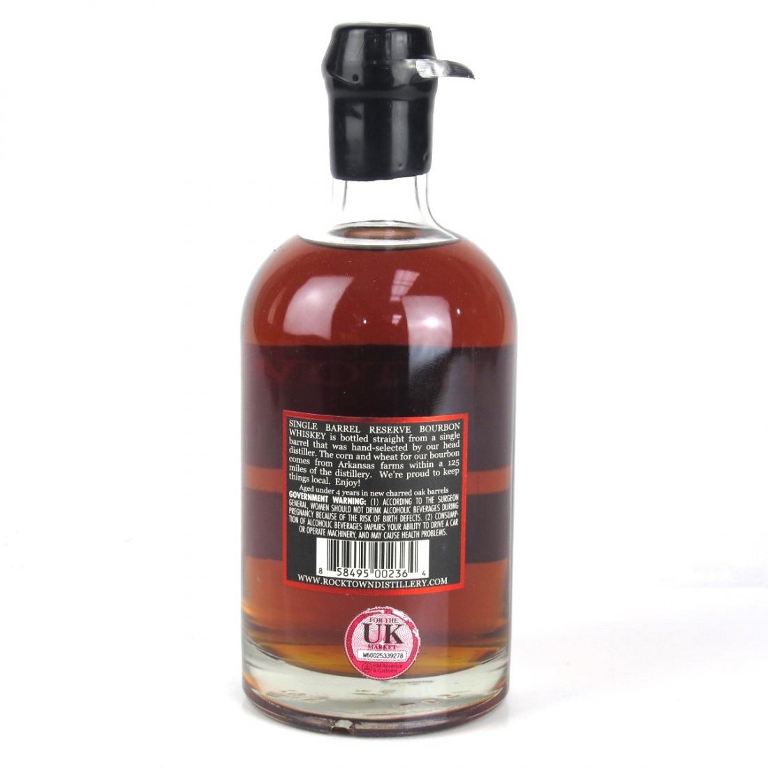 Rock Town Single Barrel Bourbon #319