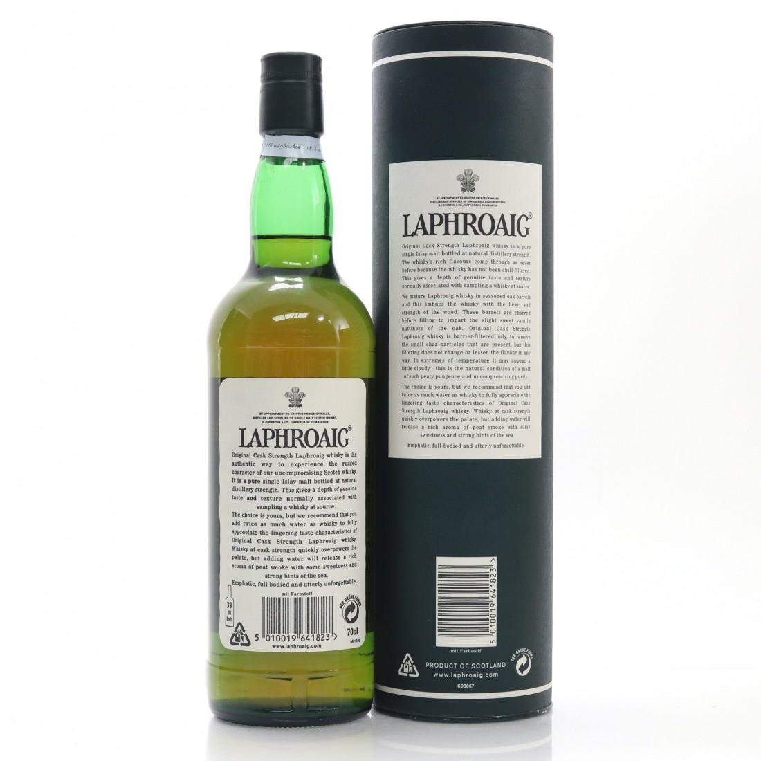 Laphroaig 10 Year Old Original Cask Strength / 55.7%